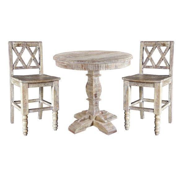 Cummings 3 Piece Pub Table Set by Loon Peak