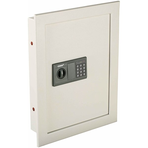 Key Lock Wall Safe 0.4 CuFt by QNN Safe