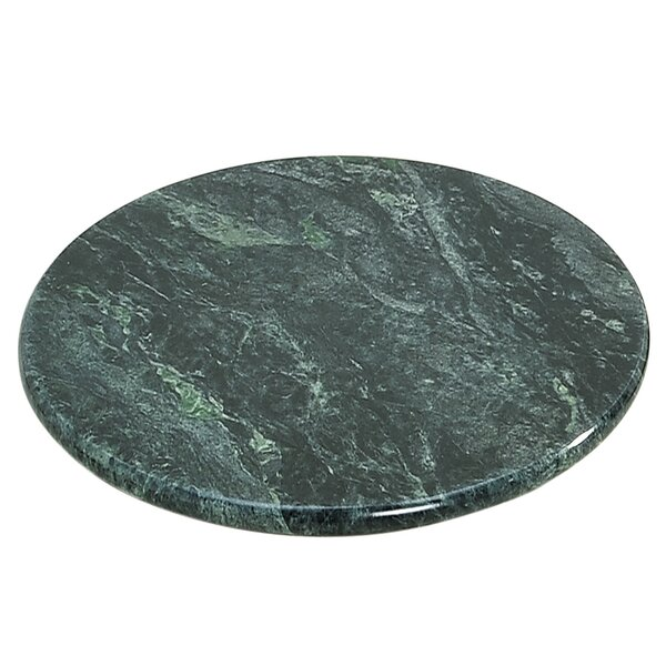Pearson Green Marble Lazy Susan by Red Barrel Studio