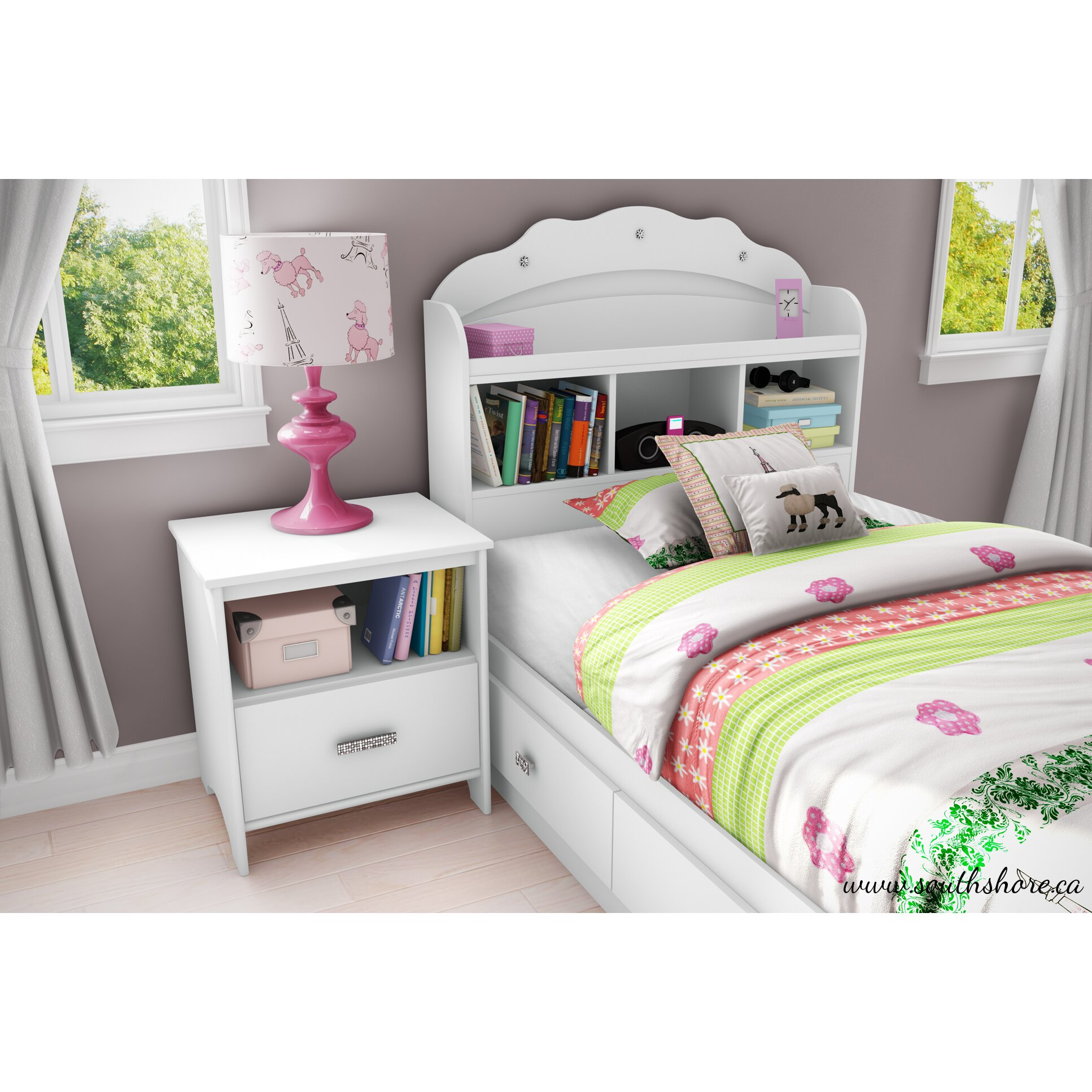 south shore imagine loft bed