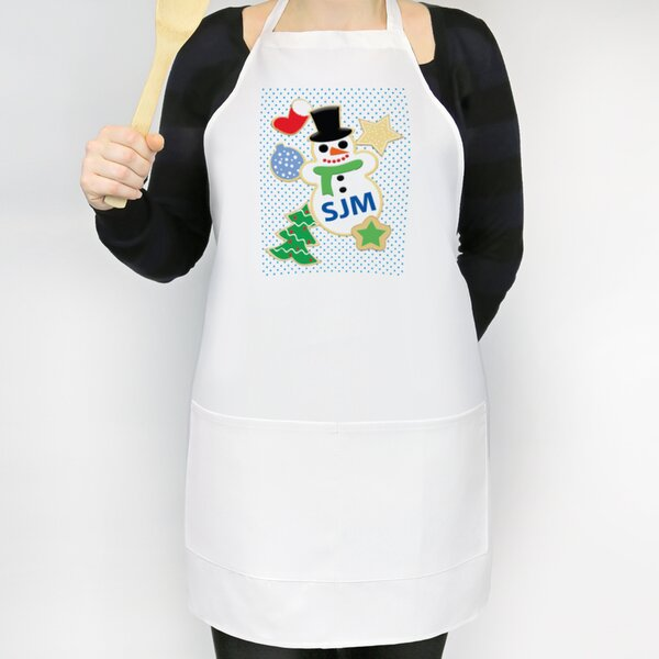 Christmas Cookies Custom Apron by Monogramonline Inc.