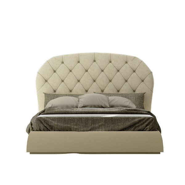 Eaman Upholstered Standard Bed by House of Hampton