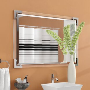 Compare prices Encarnacion Wall Bathroom/Vanity Mirror By Ebern Designs