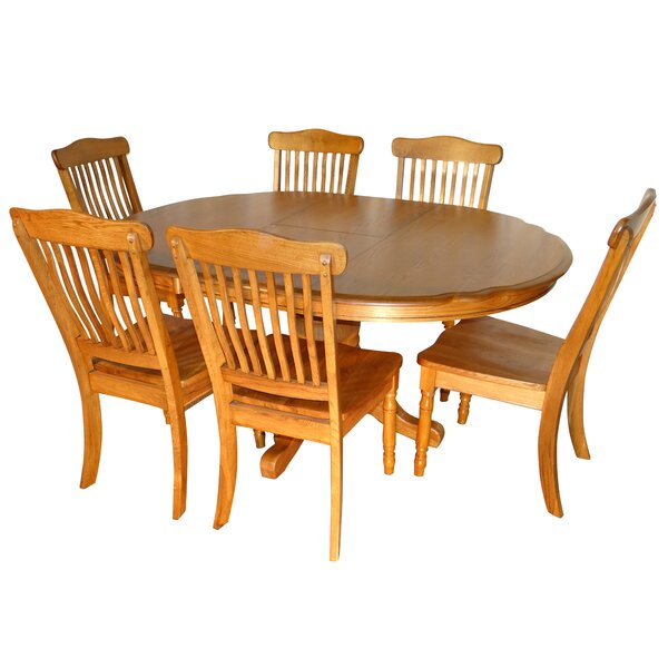 Sapphire 7 Piece Extendable Dining Set by August Grove