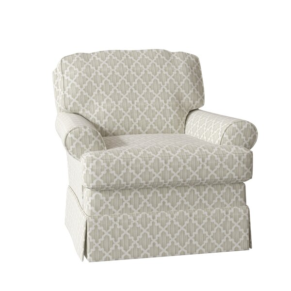 Alleman Swivel 22-inch Armchair by Darby Home Co Darby Home Co