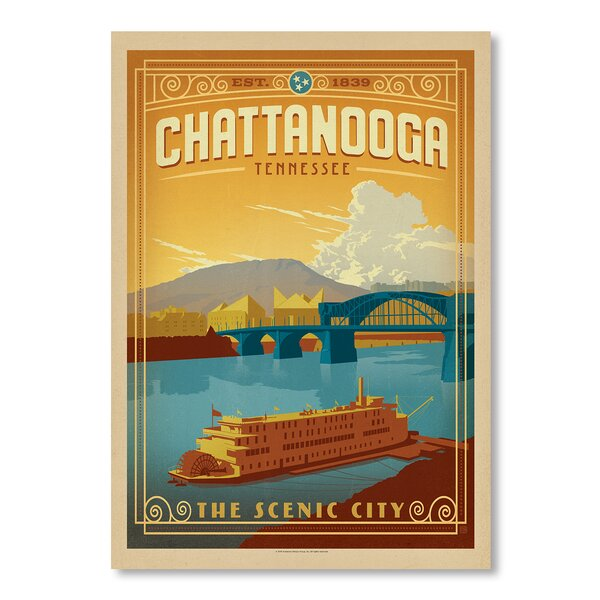 Chattanooga Vintage Advertisement by East Urban Home