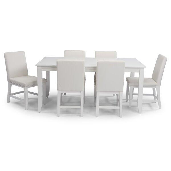 Emblyn Rectangular 7 Piece Dining Set By Latitude Run