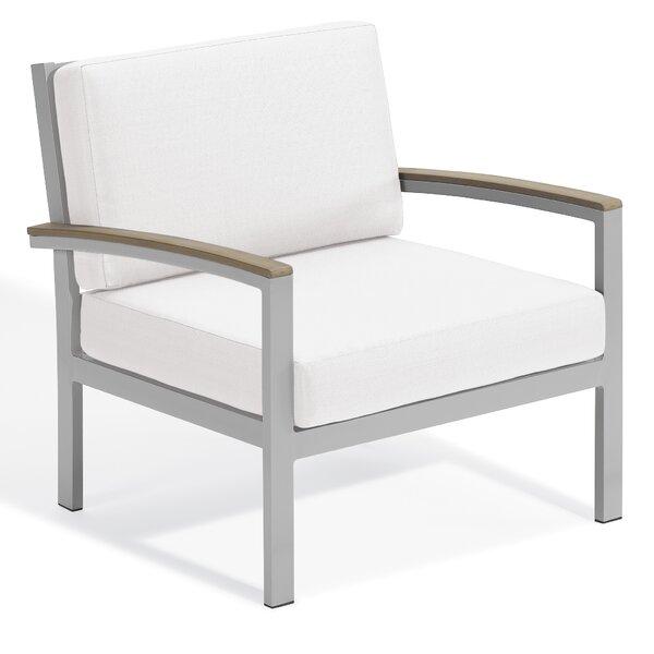Maclin Teak Patio Chair with Cushions by Latitude Run
