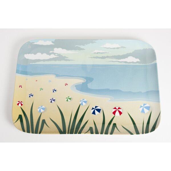 Seaside Melamine Platter by Galleyware Company