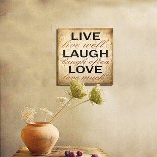 Live Laugh Love Decor   Wayfair