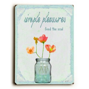 'Simple Pleasures' Graphic Art by August Grove