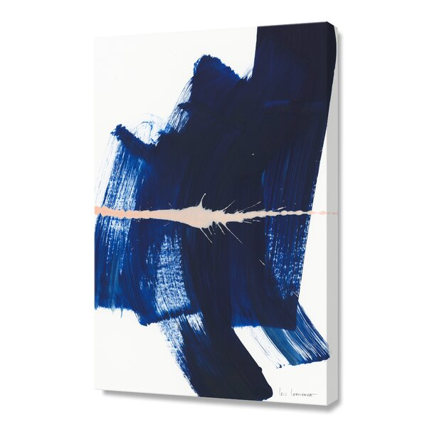 Brushstrokes 4 Graphic Art on Canvas by Langley Street