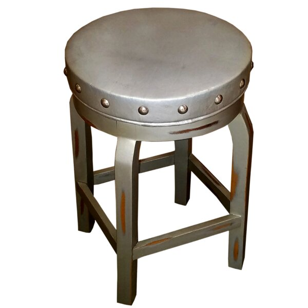 Firman Swivel Bar & Counter Stool (Set of 2) by 17 Stories 17 Stories