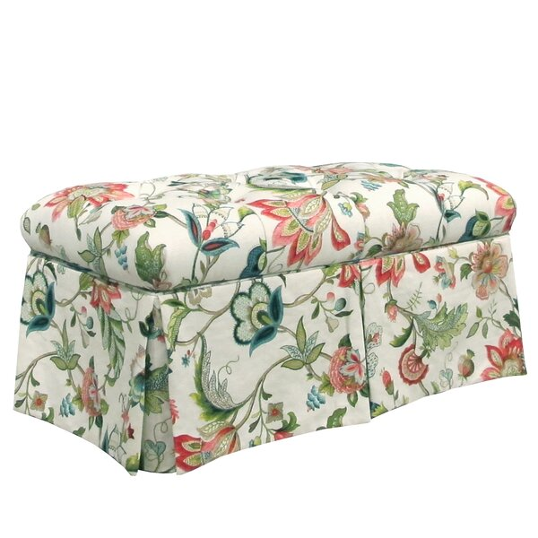 Brissac Upholstered Storage Bench by Skyline Furniture