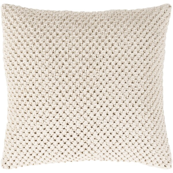 Sherlene Natural Fiber Pillow Cover by Gracie Oaks