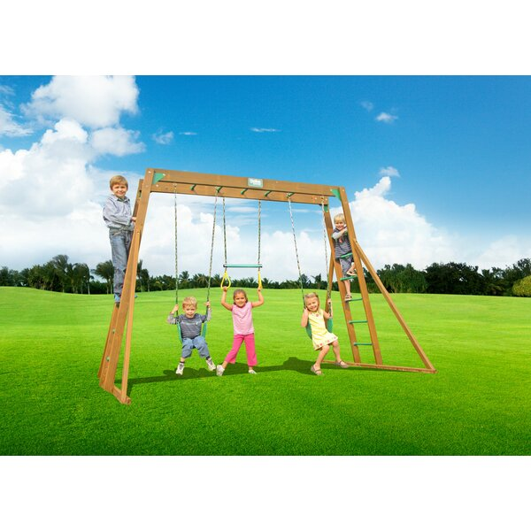Classic Top Ladder Swing Set by Creative Plaything