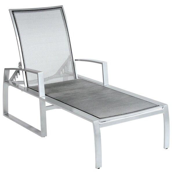 Wyatt Flex Sling Adjustable Reclining Chaise Lounge