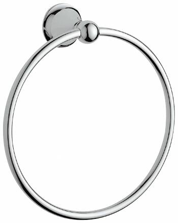 Seabury Wall Mounted Towel Ring by Grohe