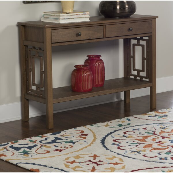 World Menagerie Brown Console Tables