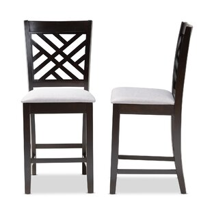 Bott Fabric Upholstered 25 Bar Stool (Set of 2)