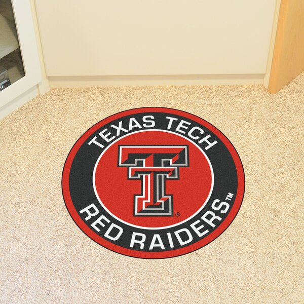 NCAA Texas Tech University Roundel Mat by FANMATS