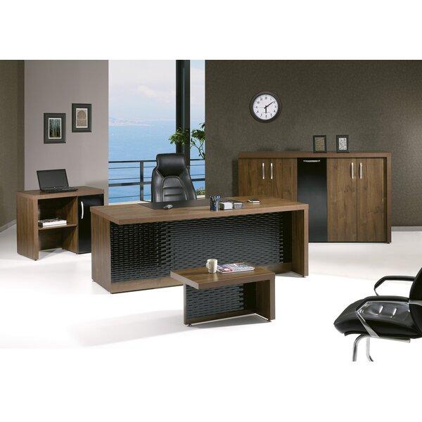 Puccio Modern Desk Office Suite (Set of 4) by Brayden Studio
