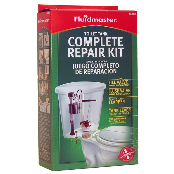 Toilet Tank Complete Repair Kit by Fluidmaster