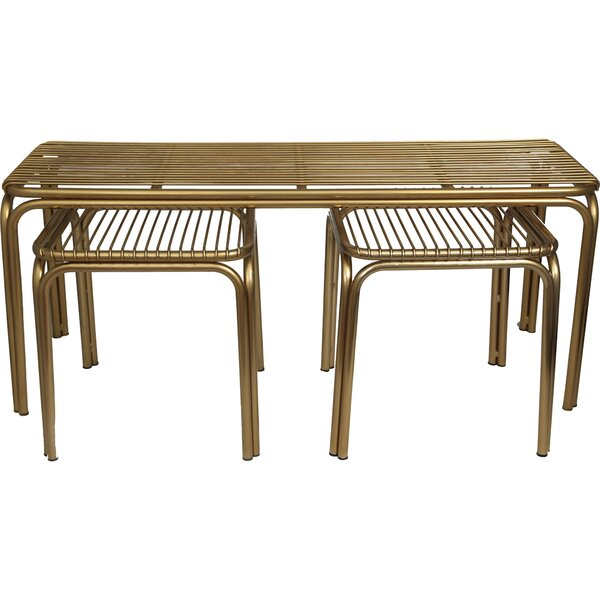 Elizalde 3 Piece Coffee Table Set By Everly Quinn