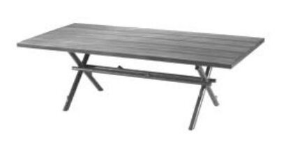 River Run Rectangular Wooden Dining Table by Woodard