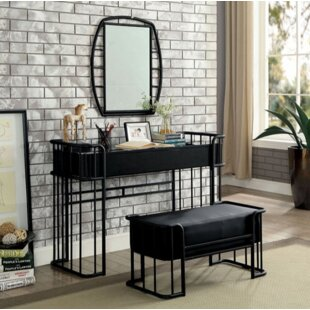 Longwood Vanity Set with Mirror by 17 Stories