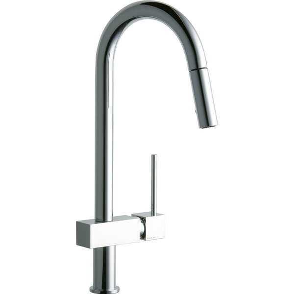 Avado Pull Down Single Handle Kitchen Faucet by Elkay