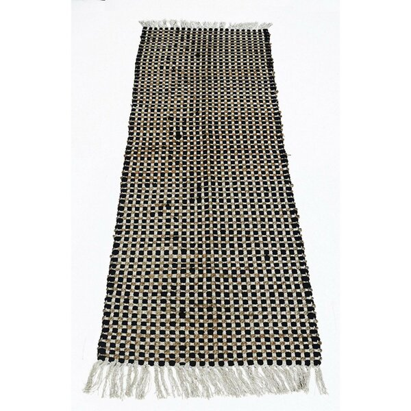 Leia Black Area Rug by Gracie Oaks