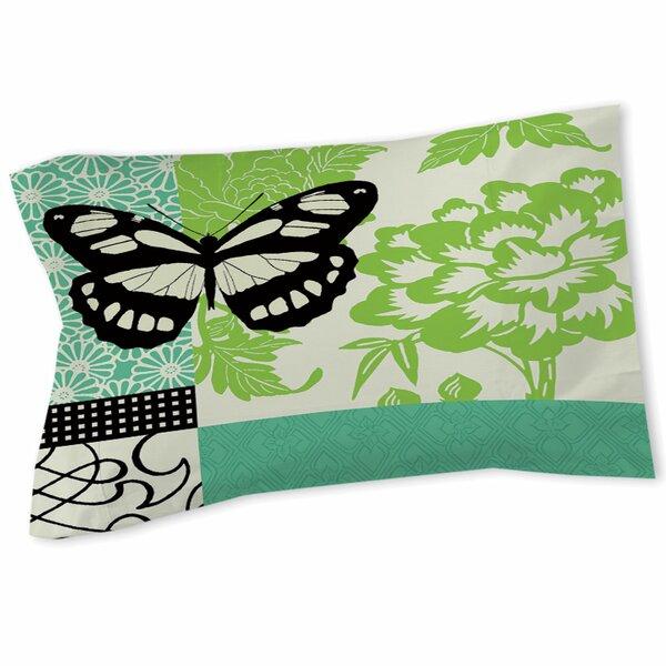 Butterfly Journey 2 Sham by Manual Woodworkers & Weavers