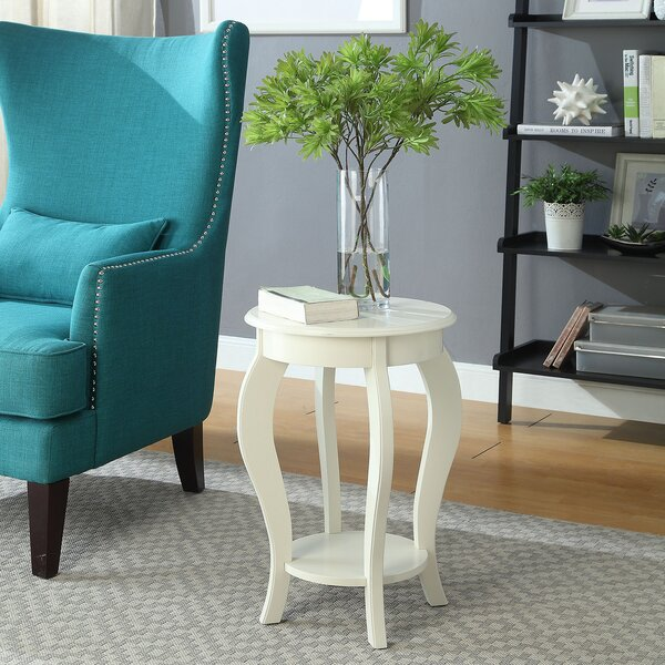 Johnstown End Table by Charlton Home