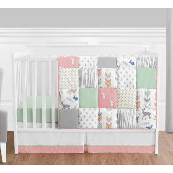 Woodsy 4 Piece Crib Bedding Set by Sweet Jojo Designs