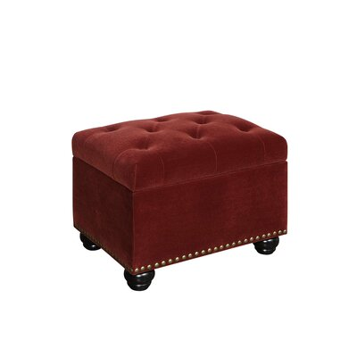 Stupendous Charlton Home Bernadette Tufted Storage Ottoman Uphostery Squirreltailoven Fun Painted Chair Ideas Images Squirreltailovenorg