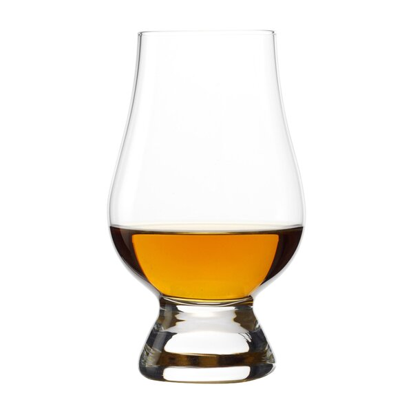 Glencairn Whiskey 6 oz. Crystal Snifter/Liqueur Glass (Set of 4) by Wine Enthusiast