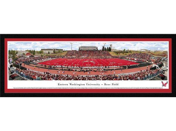 NCAA Eastern Washington University by Christopher Gjevre Framed Photographic Print by Blakeway Worldwide Panoramas, Inc