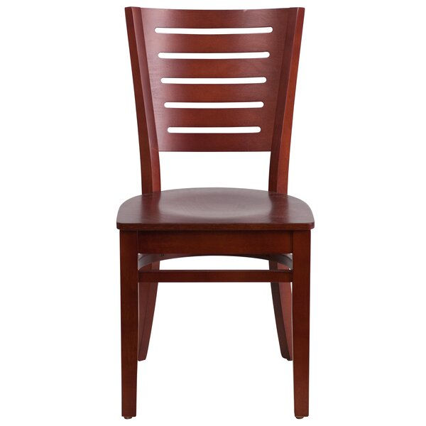Ceja Solid Wood Dining Chair by Winston Porter