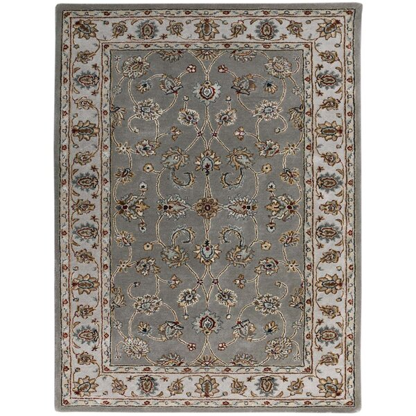 Pawling Hand-Tufted Gray Area Rug by Charlton Home