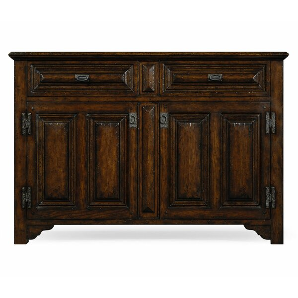 Tudorbethan 2 Door Accent Cabinet by Jonathan Charles Fine Furniture