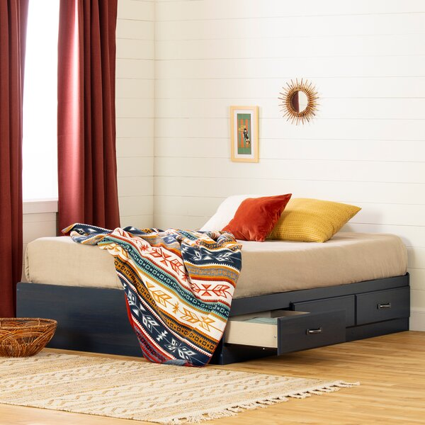 Asten Mates and Captains Bed with Drawers by South Shore