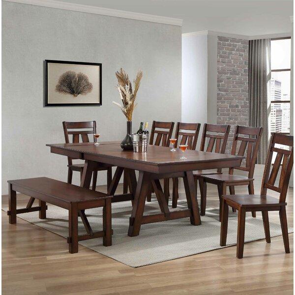 Keturah 6 Piece Extendable Dining Set by August Grove