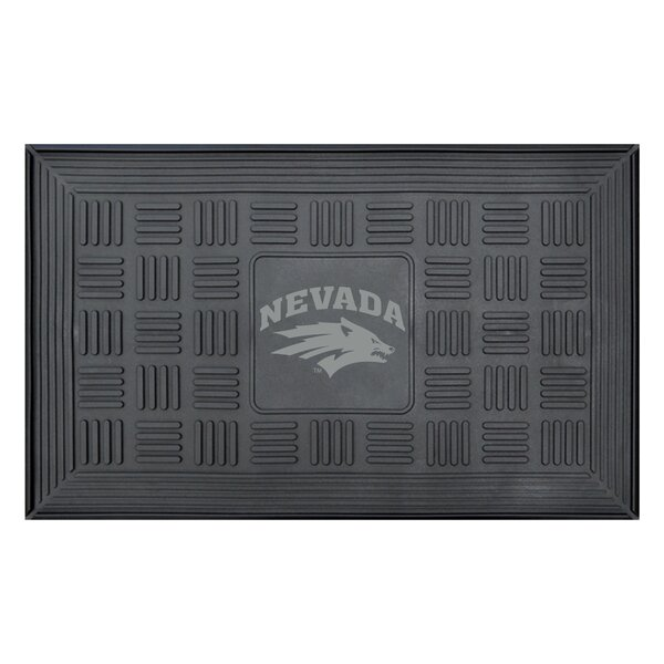 NCAA University of Nevada Medallion Door Mat by FANMATS