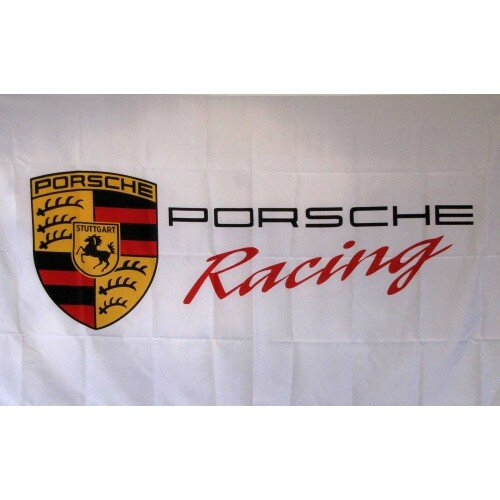 Porsche Racing Polyester 3 x 5 ft. Flag by NeoPlex