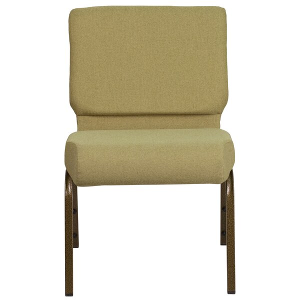 MacArthur Contemporary Moss Green Guest Chair by Ebern Designs