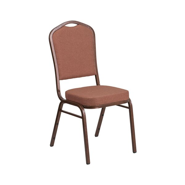 Crown Back Multipurpose Stacking Banquet Chair by Offex