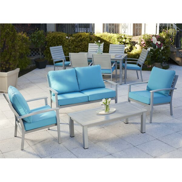 Yohan 11 Pieces Complete Patio Set by Wade Logan
