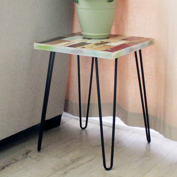 Buckles End Table by Union Rustic