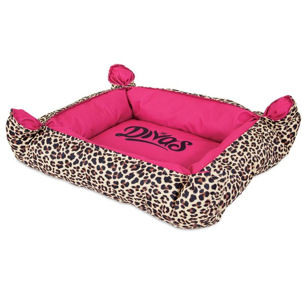 Divas Pinch Corner Bolster Dog Bed by WWE